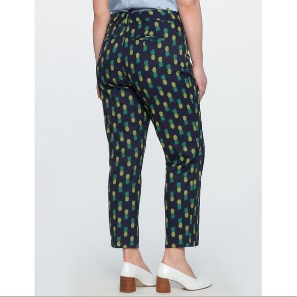 Eloquii Pants - Eloquii • Kady Fit Printed Crepe Pants